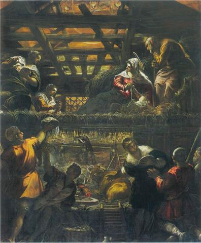 Jacopo Tintoretto, Adorazione dei Pastori