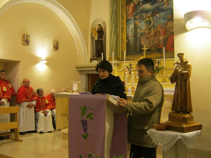 IV percorso quaresimale: sa S. Croce a S. Antonio
