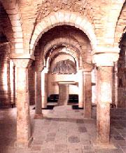 Un'immagine della cripta