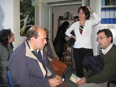 ...Chiara riesce a comunicarci tutta la sua passione per l'attività che sta svolgendo insieme agli altri soci