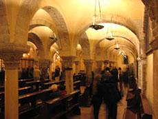 ...nella cripta della Basilica di S.Nicola...