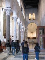 ...e nella Cattedrale dove rimaniamo per la celebrazione della S.Messa