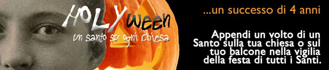 Contribuisci anche tu affinché Holyween sconfigga Halloween