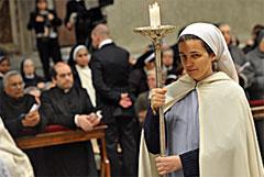 Immagine di una religiosa