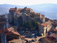 Una foto del piccolo borgo