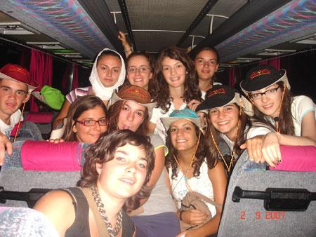 Una foto di alcuni dei ragazzi della Diocesi recatisi a Loreto